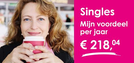 Alleenstaanden besparen tot €218,04 per jaar